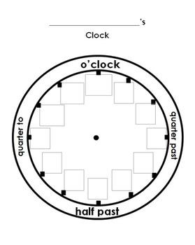 Common Worksheets » Worksheets On Clocks - Preschool and ...