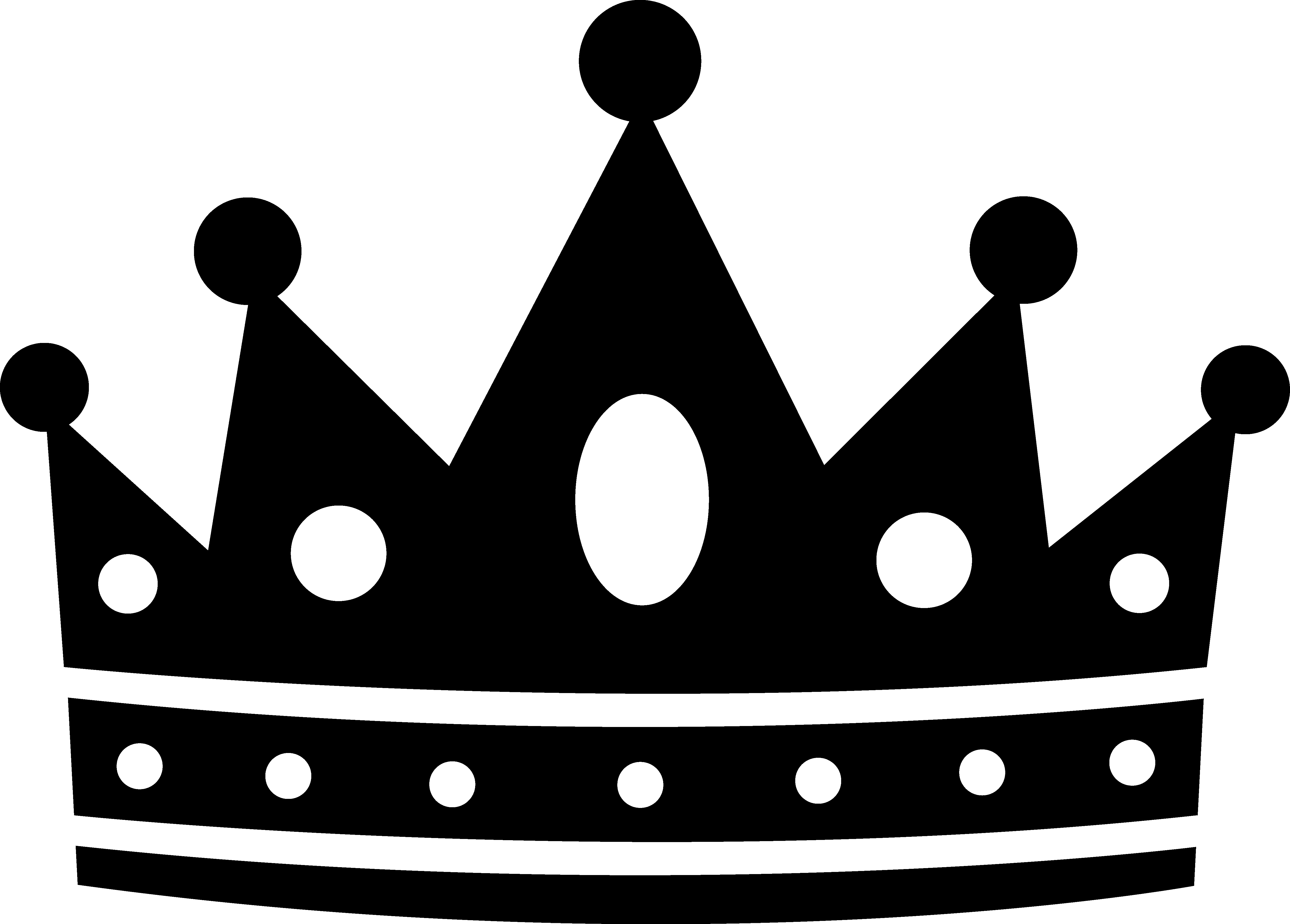 free vector clipart crown - photo #46