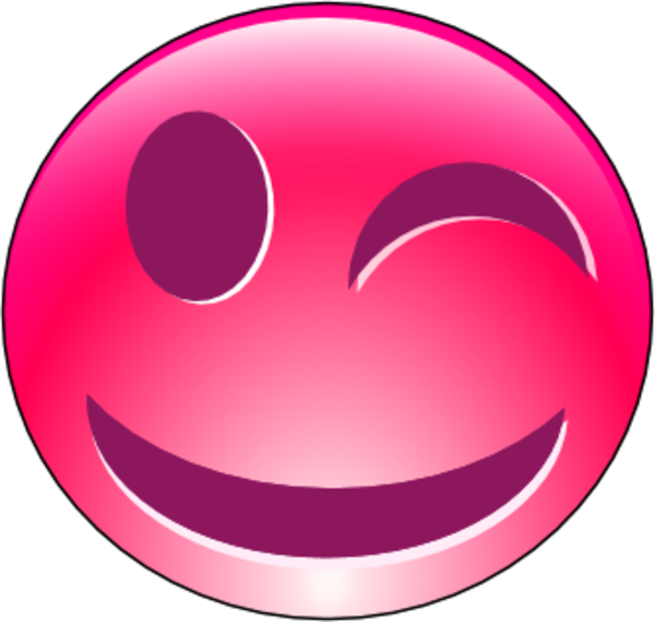 Gallery For > Clipart Smiley Face Pink
