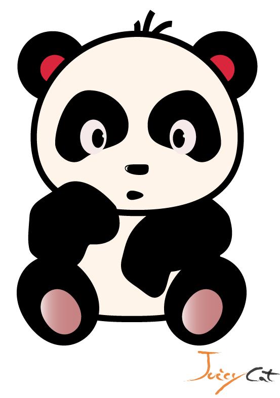 clipart panda female - photo #14