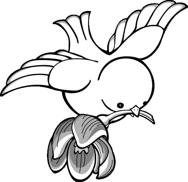Flying Bird Drawings Clipart Best