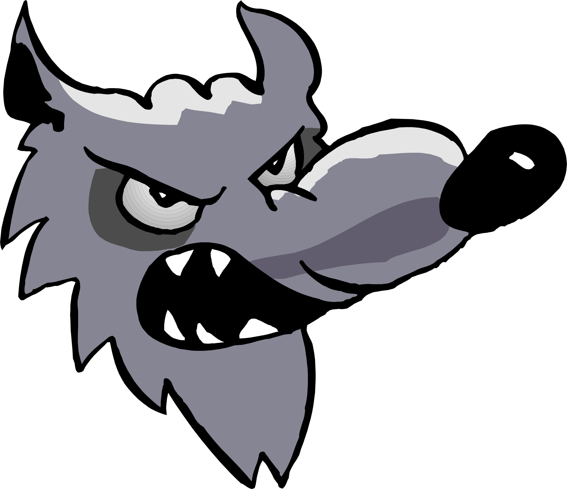 Cartoon Wolves - ClipArt Best