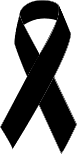 Black Cancer Ribbon Clipart Best