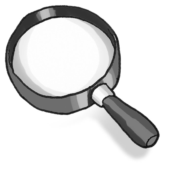 Clip On Magnifying Glass Clipart Best Clipart Best