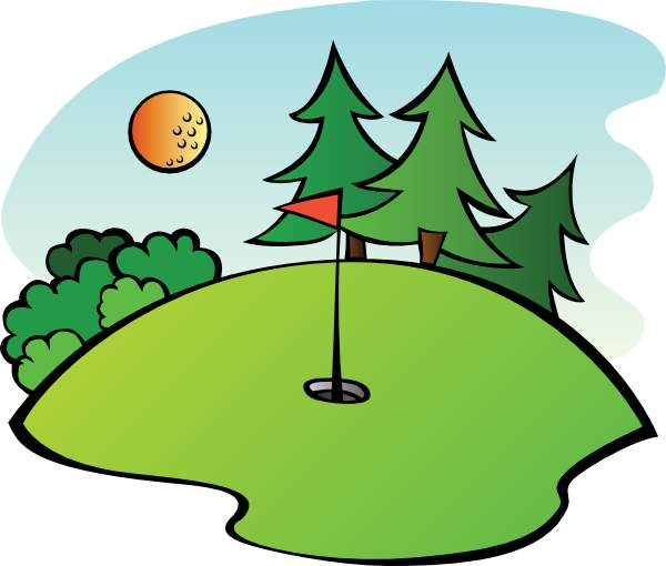 Golf Course Clipart - ClipArt Best
