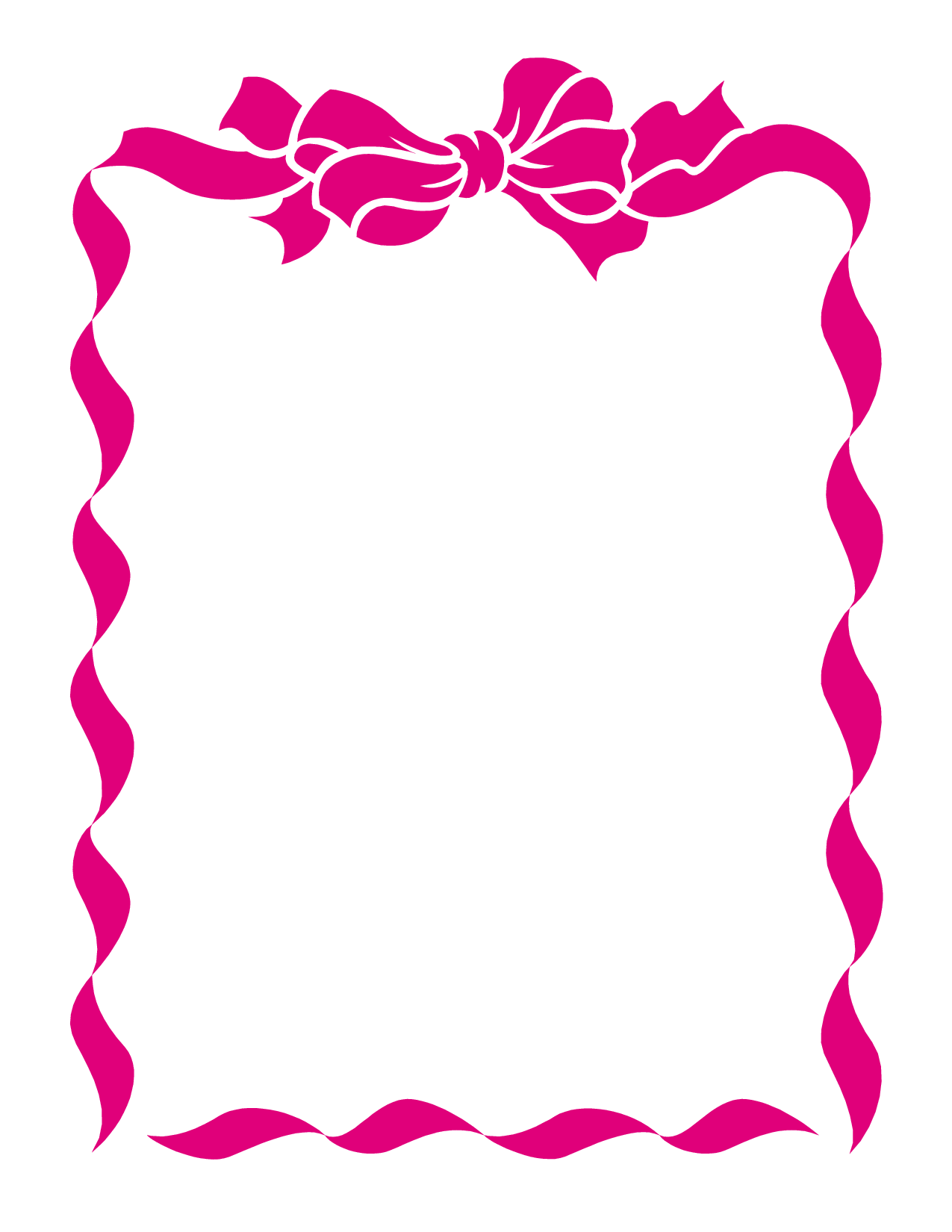 Breast Cancer Ribbon Template - ClipArt Best