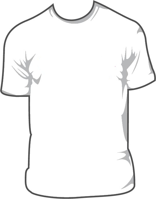 T Shirt Layout Template - ClipArt Best