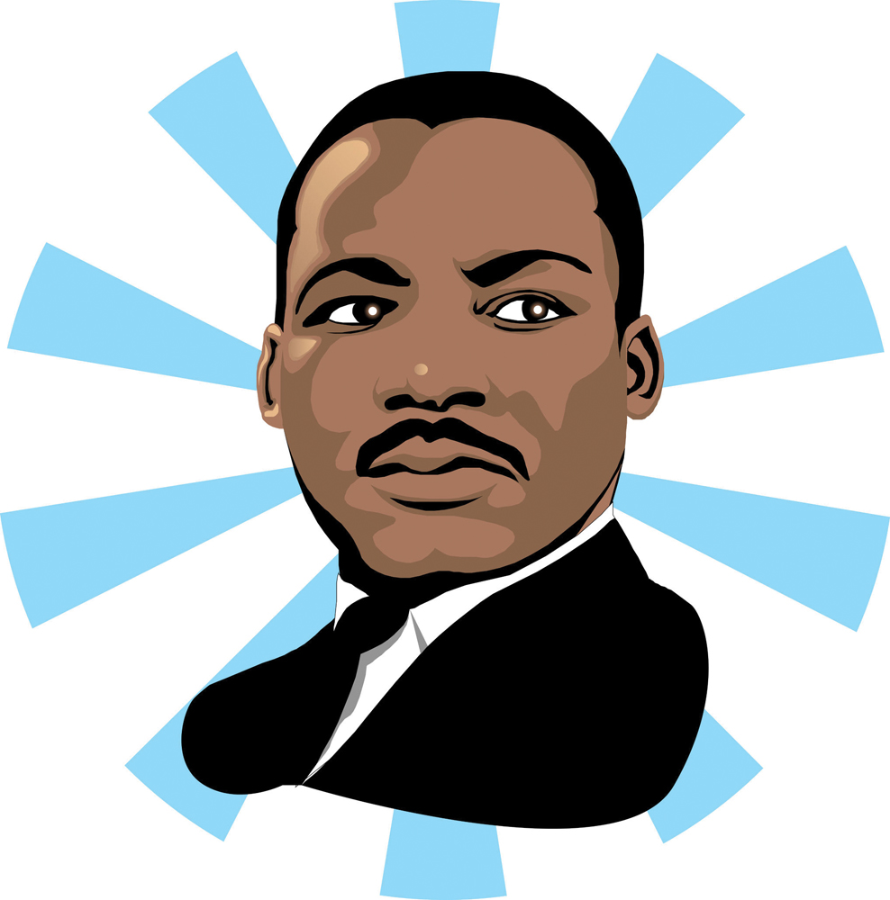 clip art martin luther king jr day - photo #13