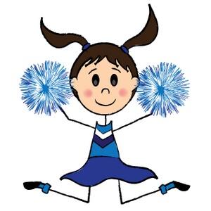 Cartoon Pictures Of Cheerleaders - 27.5KB