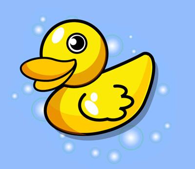 Cute Baby Duck Cartoon - Cutes Baby