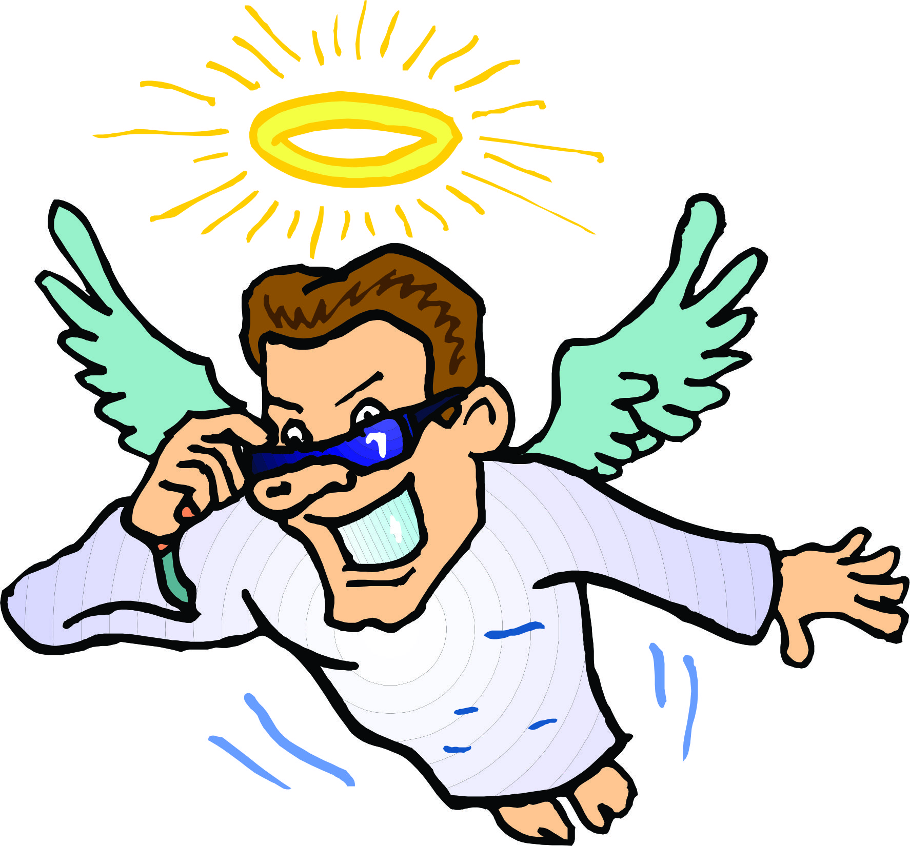 cartoon angel clipart - photo #17