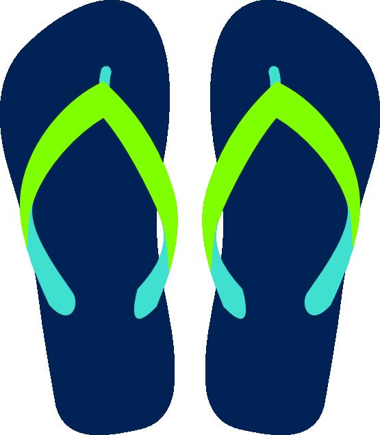 Flip Flop Clip Art Free - ClipArt Best