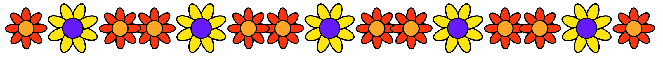 Single Line Word Art : Free spring borders for word clipart best