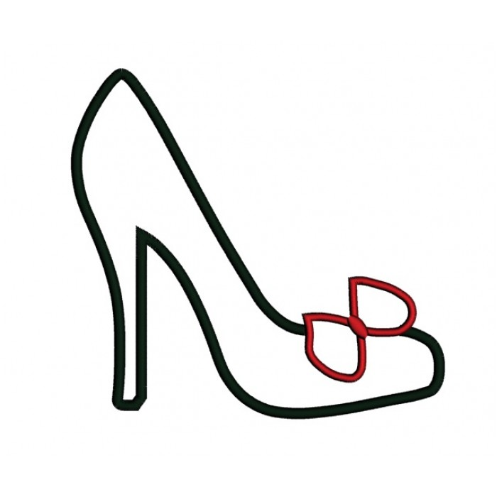 High heel shoe template clipart best for High heel shoe design template