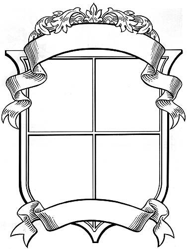 Unusual image intended for coat of arms template printable free