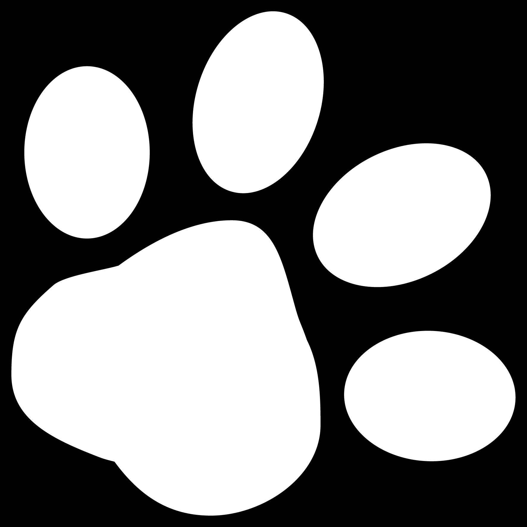 White Paw Print | Free Download Clip Art | Free Clip Art | on ...