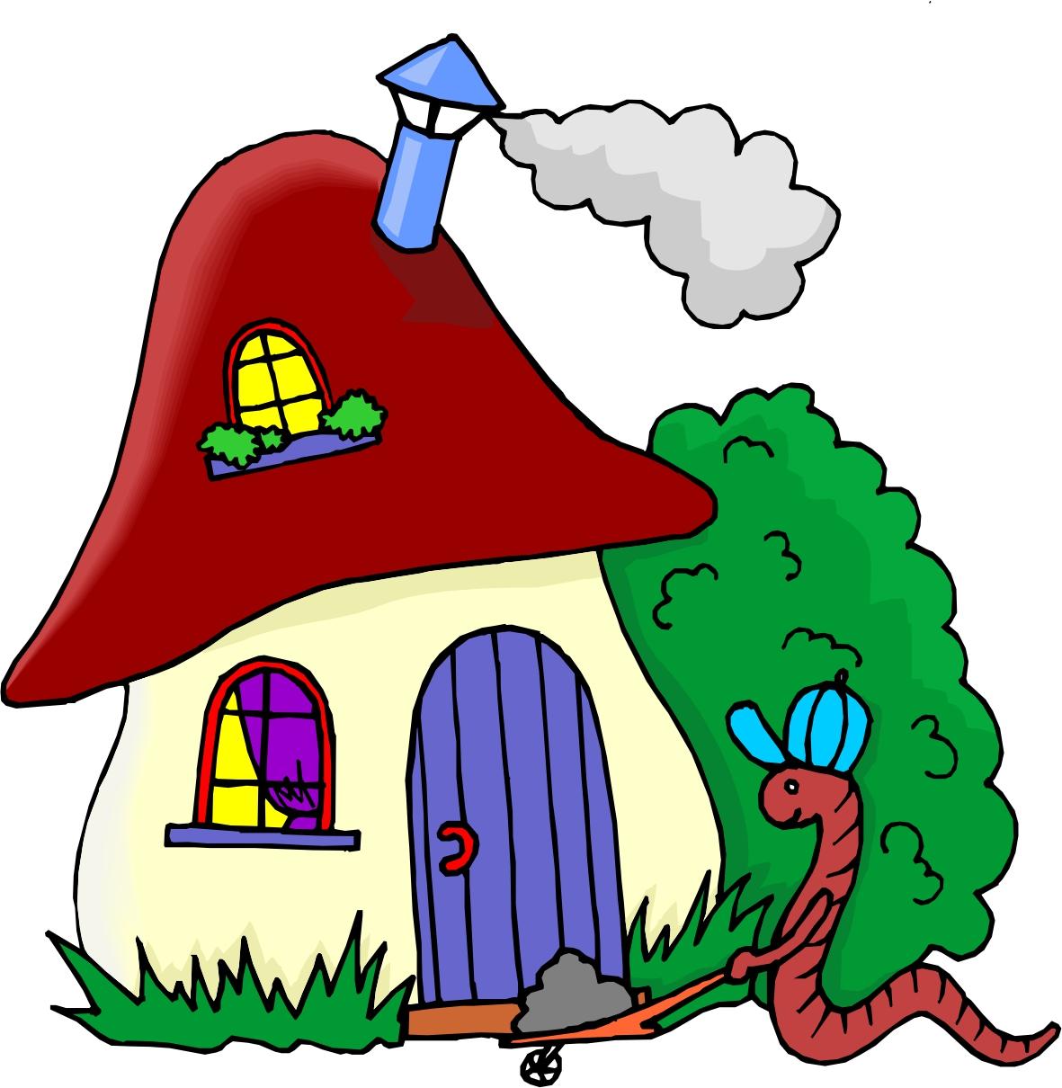 Cartoon Of House