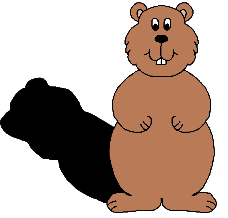 Groundhog Day Clip Art - ClipArt Best