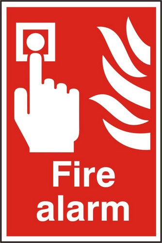 Clip Art Of Fire Alarm