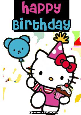 Hello kitty happy birthday clipart best - Hello kitty birthday images ...