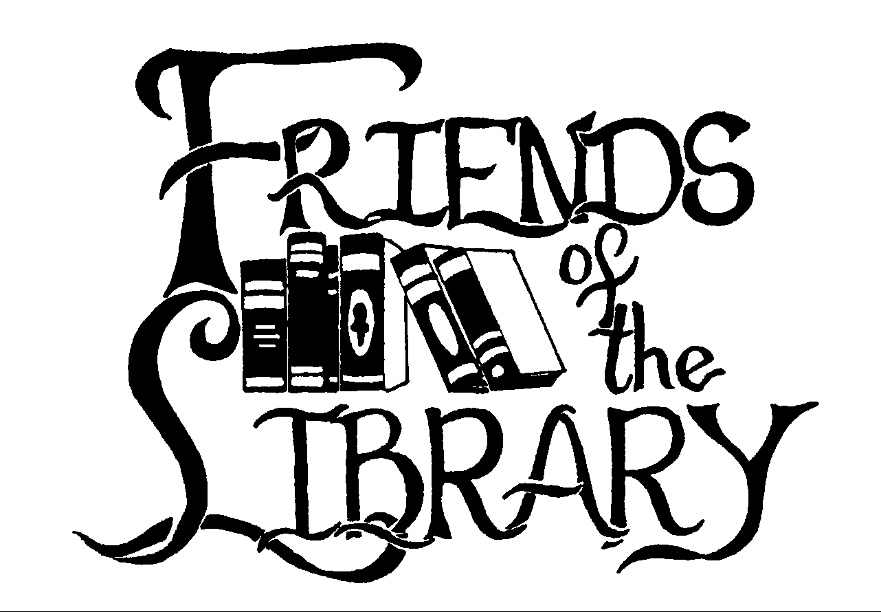 Image result for friends of the library clip art