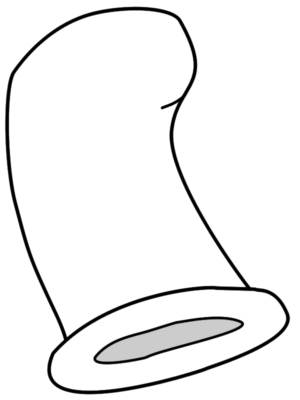 Cat In The Hat Outline The cat in the hat