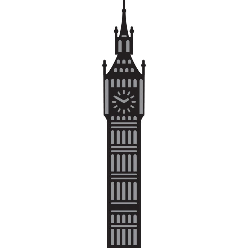 Big Ben Wall Stencil ClipArt Best