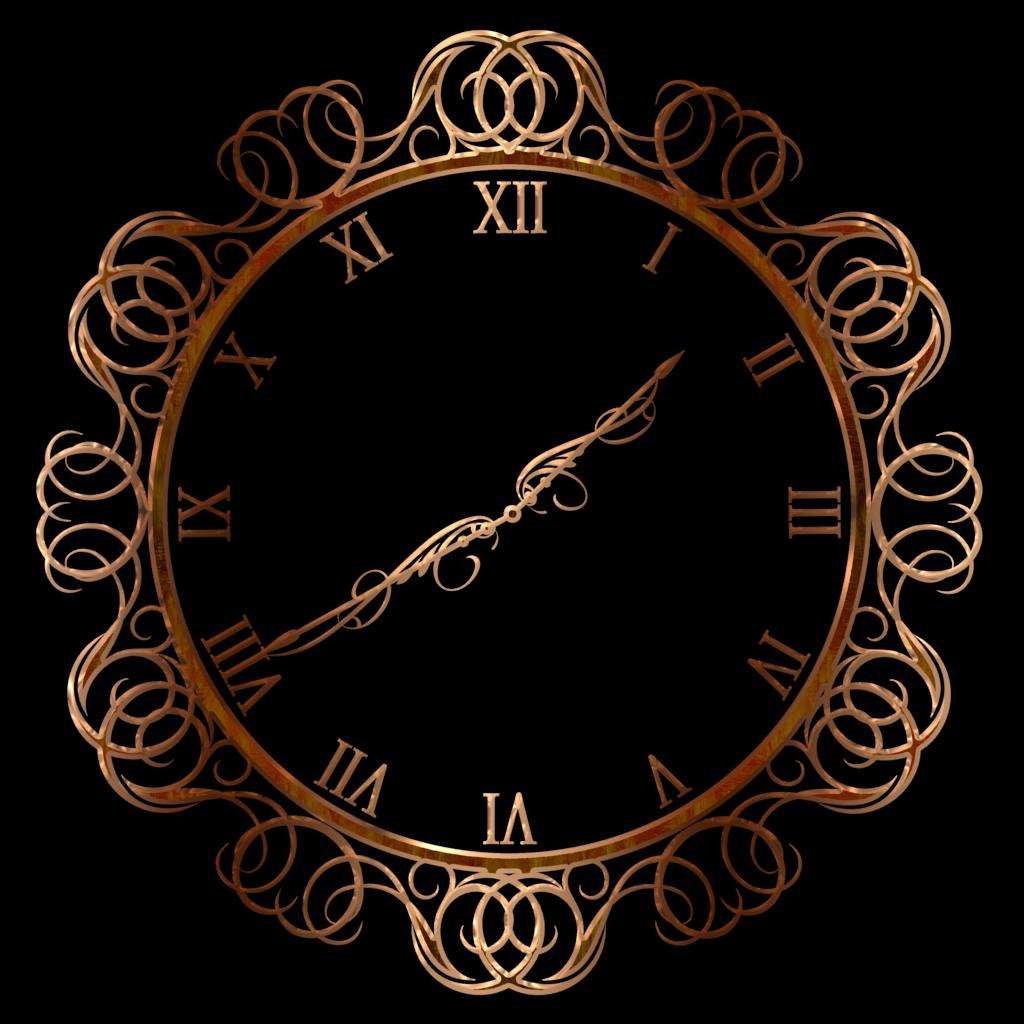 vintage clock png clipart best