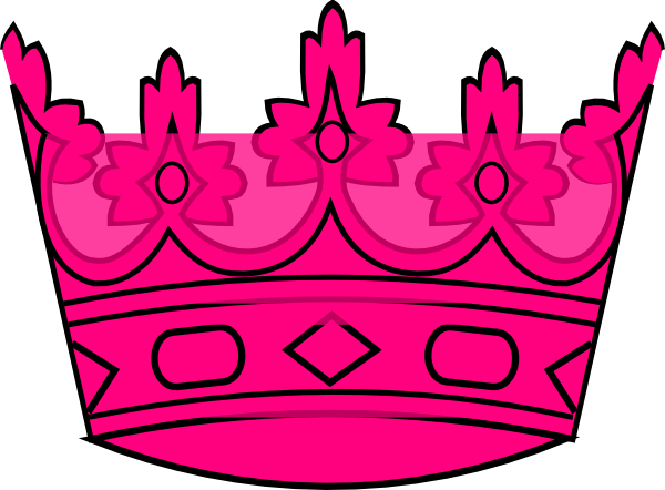 Pink crown clipart - photo#20