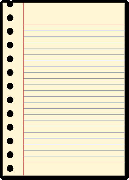 Free Clip Art Notebook