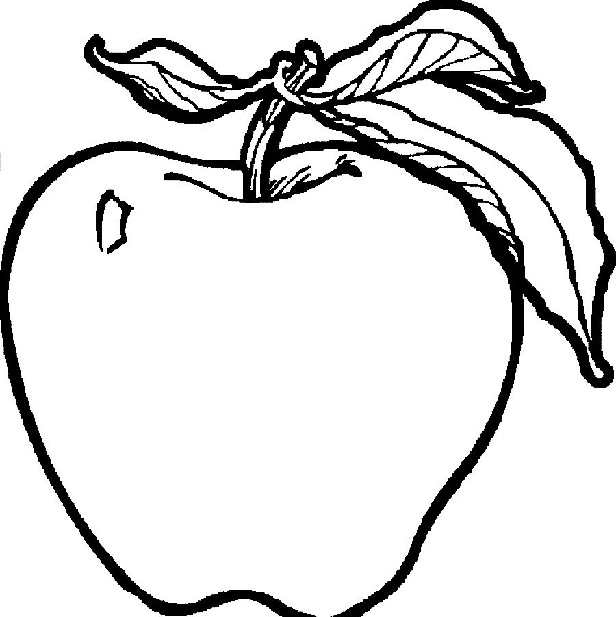 Apple To Color Clipart Best