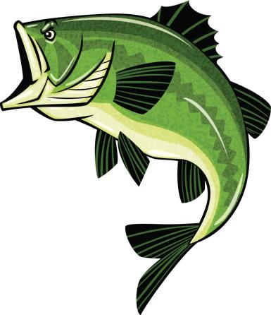 largemouth bass clip art - photo #21