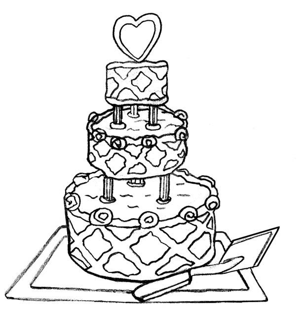 Wedding Cake Clipart | Free Download Clip Art | Free Clip Art | on ...
