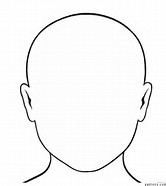 Decisive image for human face template printable