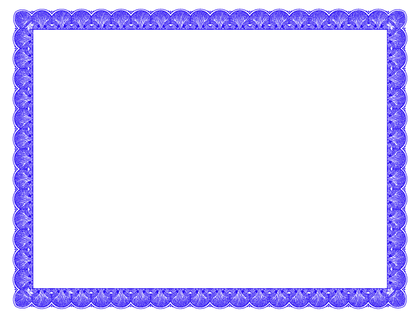 Fancy Certificate Border - ClipArt Best