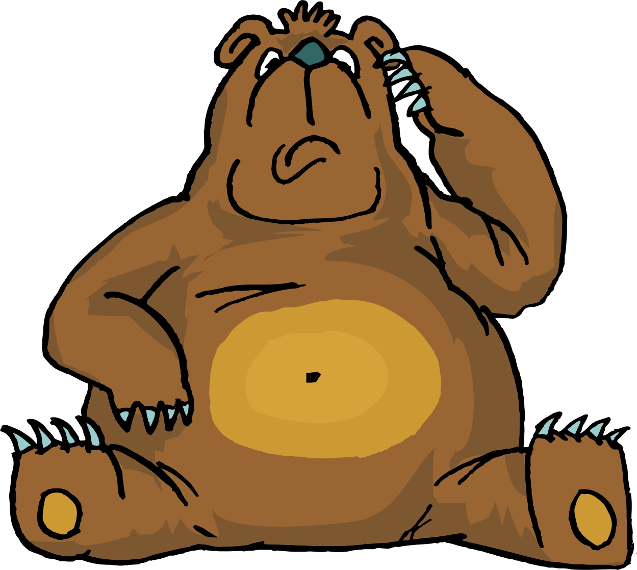 Cartoon Brown Bear - ClipArt Best