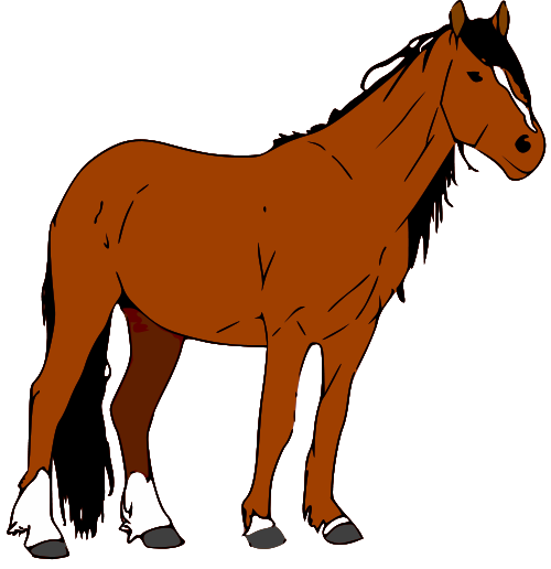 clipart picture of a horse - photo #8
