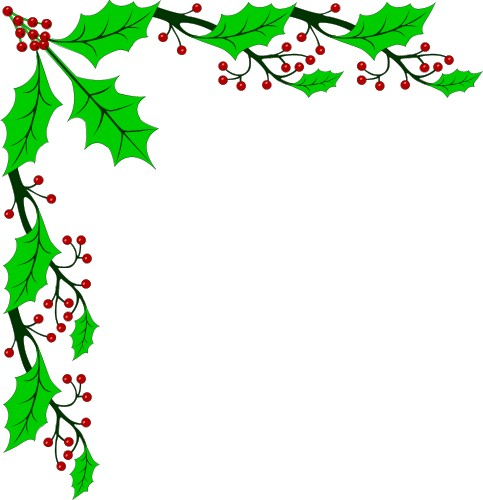 clipart xmas borders - photo #41