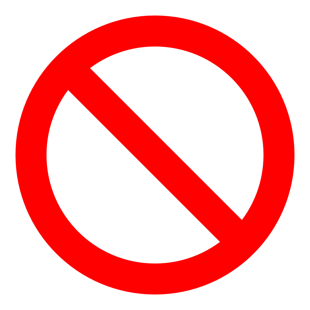 do not enter symbol   clipart best