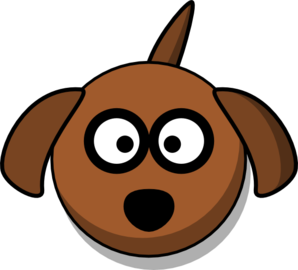 Dog Face Cartoon World Label Clip Art Download Free Other ...