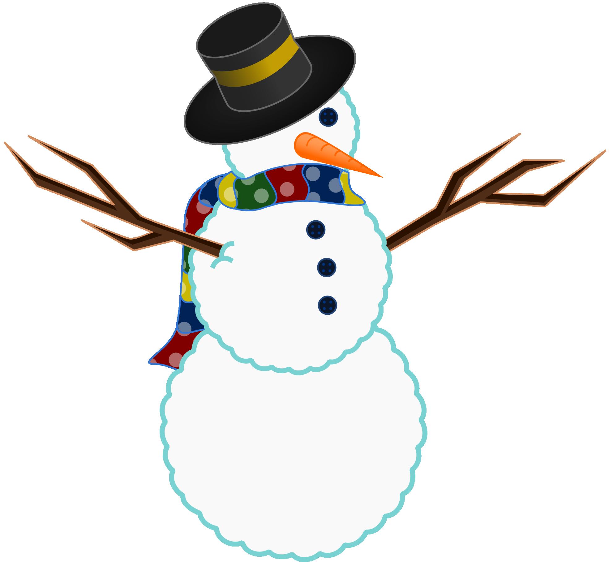 Snowman Christmas Xmas Peace Symbol Sign Christmas Clip ... - ClipArt ...