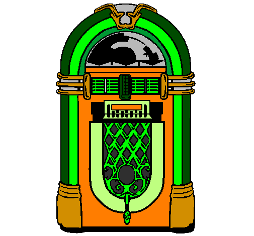 ... page 1950s jukebox painted by ashley - ClipArt Best - ClipArt Best