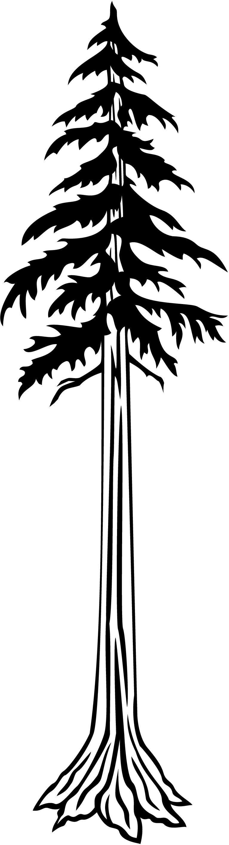Redwood Tree Clip Art - ClipArt Best