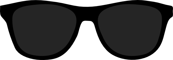 Black Sunglasses Clipart - Free Clipart Images