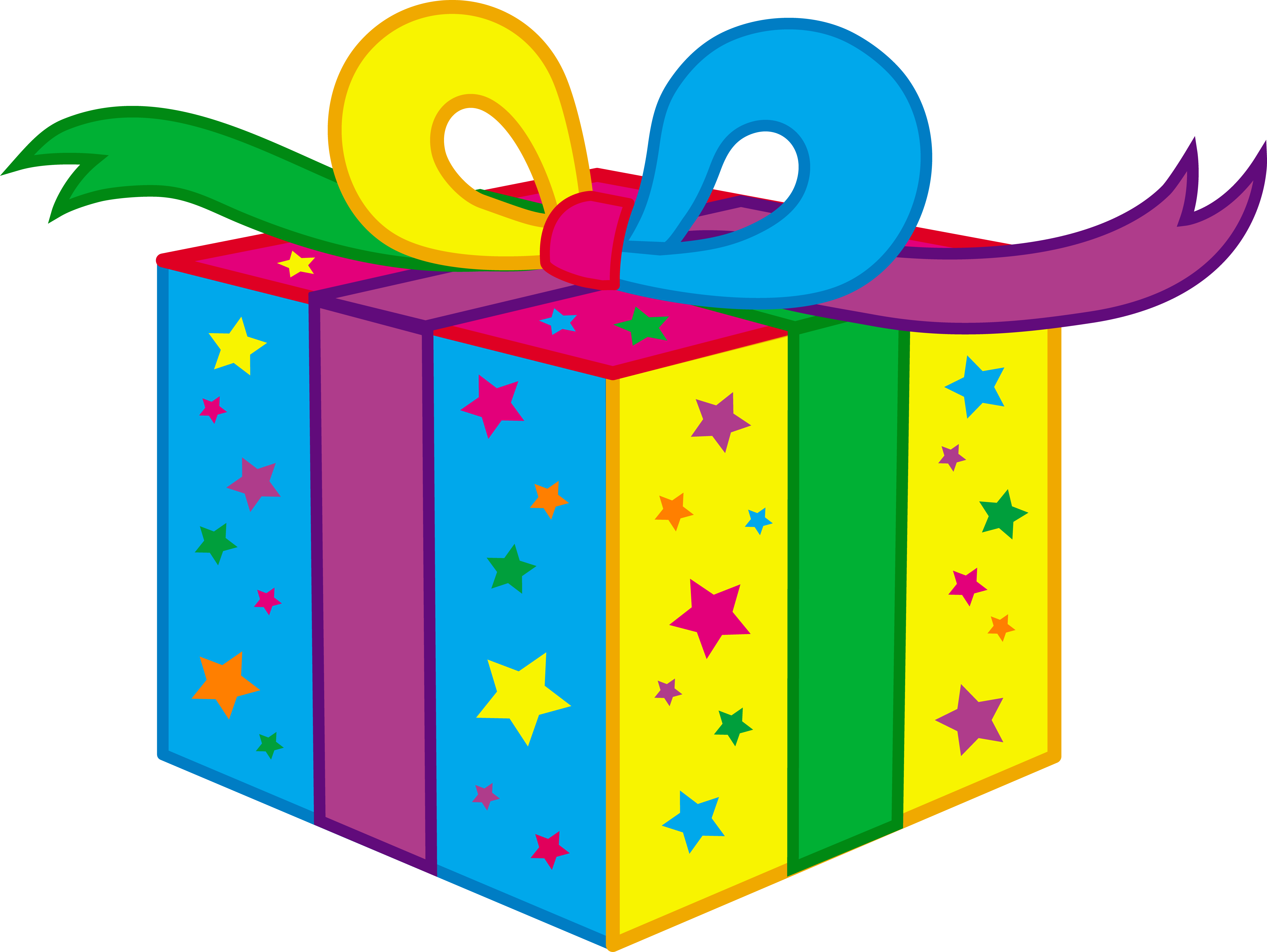 Birthday gift clip art