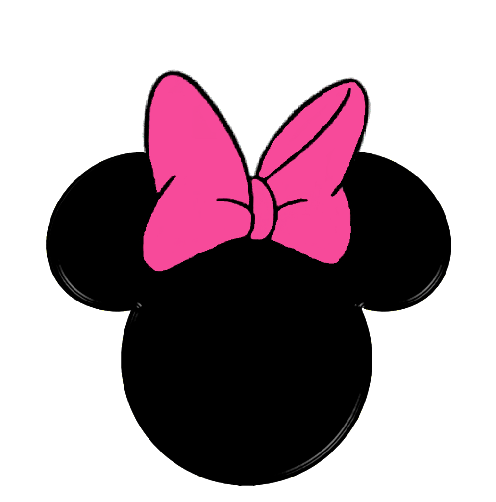 Minnie Mouse Face Template - ClipArt Best