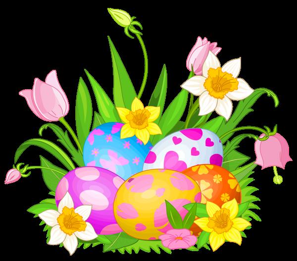 free easter flower clip art - photo #1