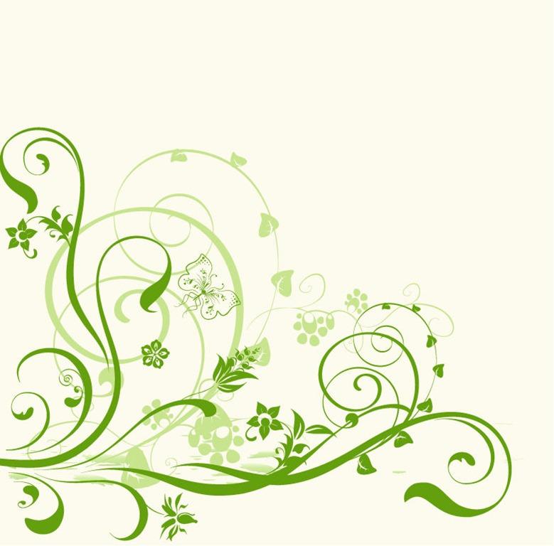 Simple Flower Background Designs Clipart Best