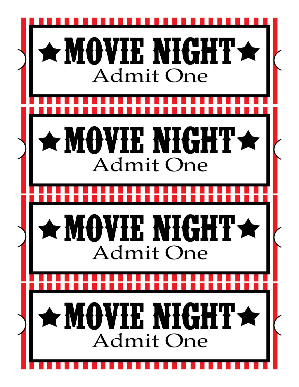 Printable Free Movie Tickets - ClipArt Best