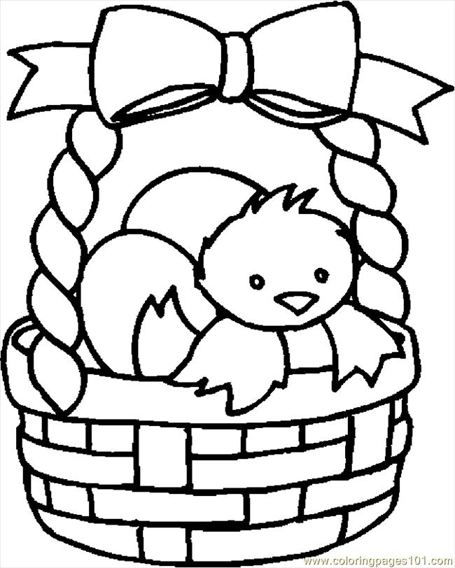 easter basket clipart black and white clipart best